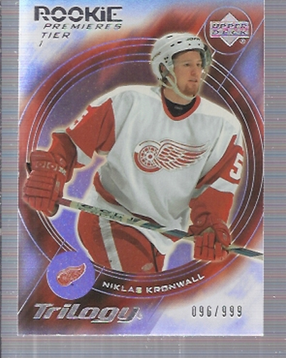 2003-04 Upper Deck Trilogy #188 Niklas Kronwall RC