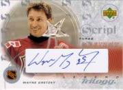 2003-04 Upper Deck Trilogy Scripts #S3G1 Wayne Gretzky AS
