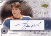 2003-04 Upper Deck Trilogy Scripts #S3JK Jari Kurri