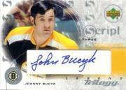 2003-04 Upper Deck Trilogy Scripts #S3JK Johnny Bucyk BOS