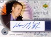 2003-04 Upper Deck Trilogy Scripts #S399 Wayne Gretzky HOF