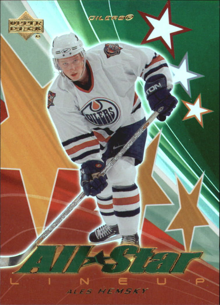 2003-04 Upper Deck All-Star Lineup #AS9 Ales Hemsky