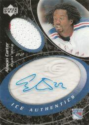 2003-04 Upper Deck Ice Authentics #IAAC Anson Carter