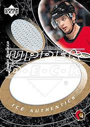 2003-04 Upper Deck Ice Authentics #IAJS Jason Spezza