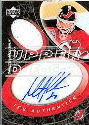 2003-04 Upper Deck Ice Authentics #IAMB Martin Brodeur