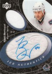 2003-04 Upper Deck Ice Authentics #IATB Todd Bertuzzi