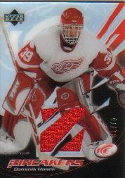 2003-04 Upper Deck Ice Breakers #IBDH Dominik Hasek