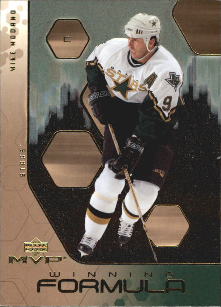 2003-04 Upper Deck MVP Winning Formula #WF8 Mike Modano