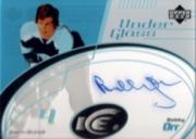 2003-04 Upper Deck Ice Under Glass Autographs #UGBO Bobby Orr