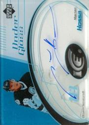 2003-04 Upper Deck Ice Under Glass Autographs #UGHA Marian Hossa