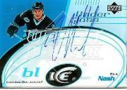 2003-04 Upper Deck Ice Under Glass Autographs #UGRN Rick Nash