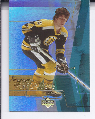 2003-04 Upper Deck Performers #PS12 Bobby Orr front image