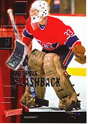 2003-04 Upper Deck Victory Freshman Flashback #FF14 Patrick Roy
