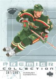 2003-04 UD Premier Collection #27 Marian Gaborik