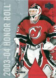2003-04 Upper Deck Honor Roll #48 Martin Brodeur