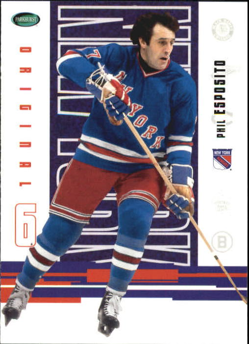 2003-04 Parkhurst Original Six New York #36 Phil Esposito