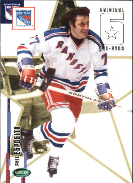 2003-04 Parkhurst Original Six New York #63 Phil Esposito