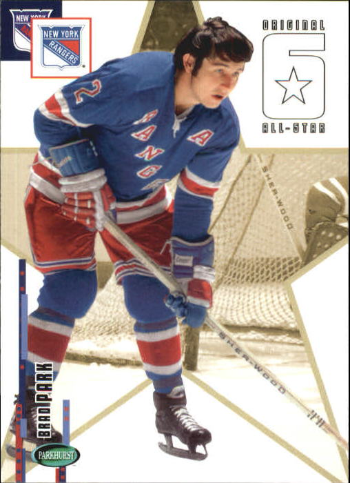 2003-04 Parkhurst Original Six New York #65 Brad Park