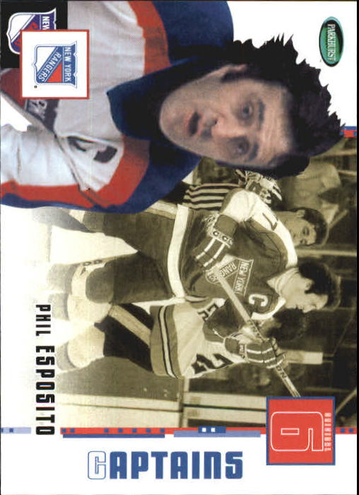 2003-04 Parkhurst Original Six New York #74 Phil Esposito