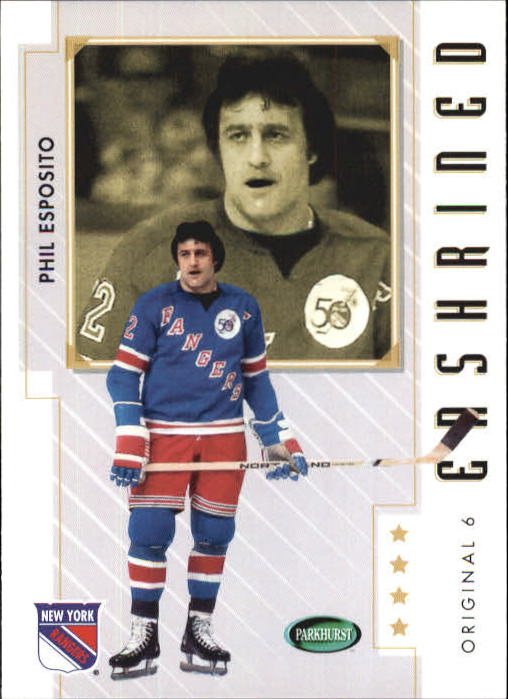 2003-04 Parkhurst Original Six New York #84 Phil Esposito