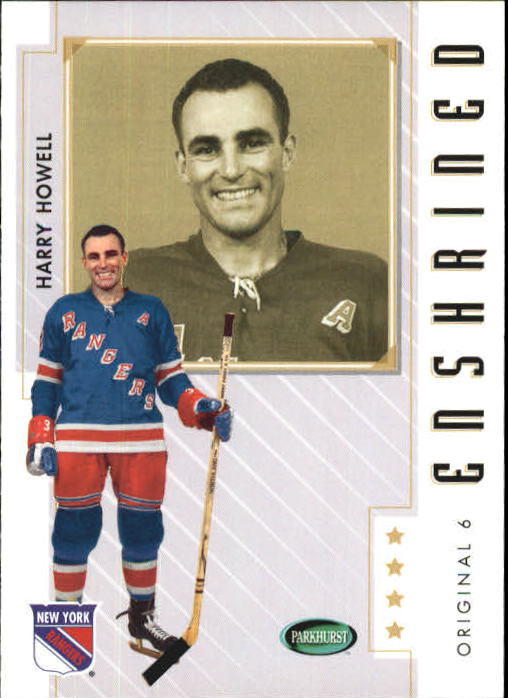 2003-04 Parkhurst Original Six New York #86 Harry Howell front image