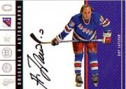 2003-04 Parkhurst Original Six New York Autographs #11 Guy Lafleur/80