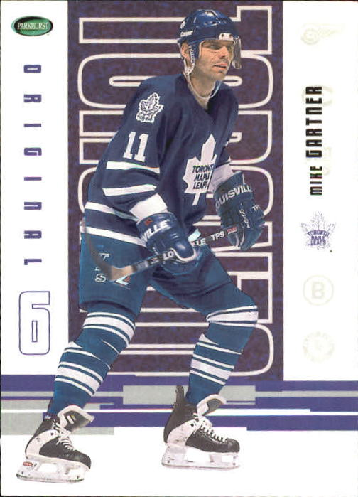 2003-04 Parkhurst Original Six Toronto #54 Mike Gartner