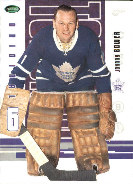 2003-04 Parkhurst Original Six Toronto #56 Johnny Bower