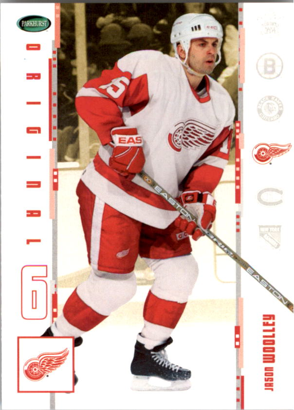 2003-04 Parkhurst Original Six Detroit #7 Jason Woolley