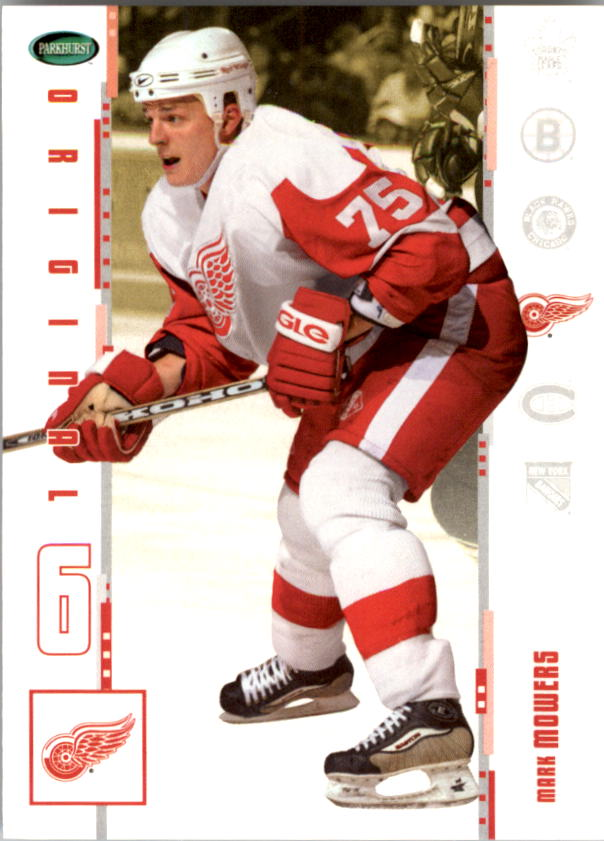 2003-04 Parkhurst Original Six Detroit #8 Mark Mowers