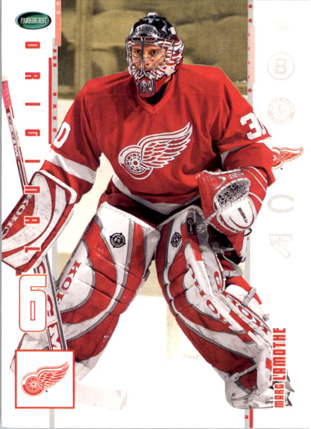 2003-04 Parkhurst Original Six Detroit #24 Marc Lamothe