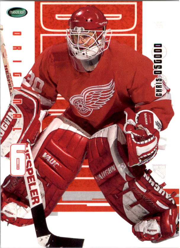 2003-04 Parkhurst Original Six Detroit #32 Chris Osgood