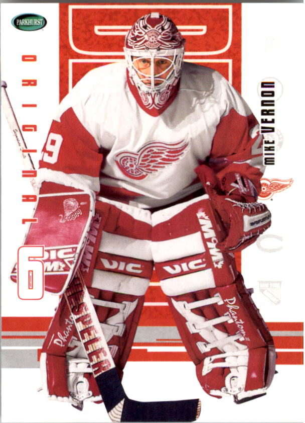 2003-04 Parkhurst Original Six Detroit #33 Mike Vernon