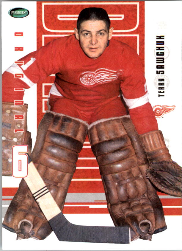2003-04 Parkhurst Original Six Detroit #35 Terry Sawchuk