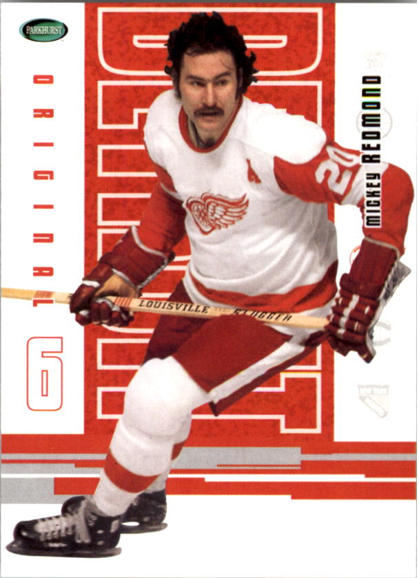2003-04 Parkhurst Original Six Detroit #39 Mickey Redmond