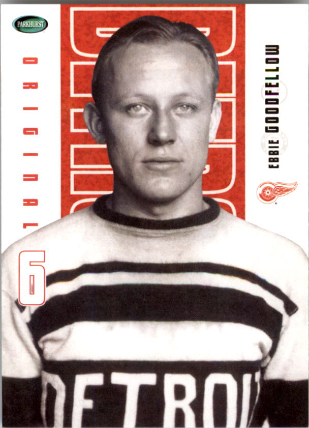 2003-04 Parkhurst Original Six Detroit #44 Ebbie Goodfellow