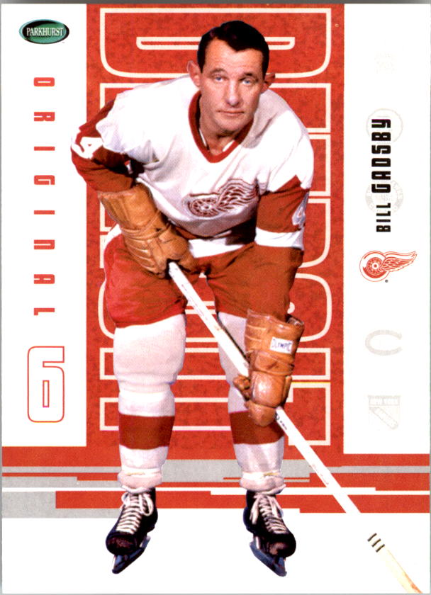 2003-04 Parkhurst Original Six Detroit #45 Bill Gadsby