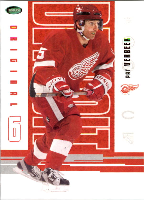 2003-04 Parkhurst Original Six Detroit #57 Pat Verbeek