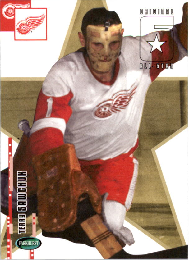 2003-04 Parkhurst Original Six Detroit #61 Terry Sawchuk AS