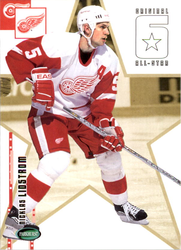 2003-04 Parkhurst Original Six Detroit #64 Nicklas Lidstrom AS