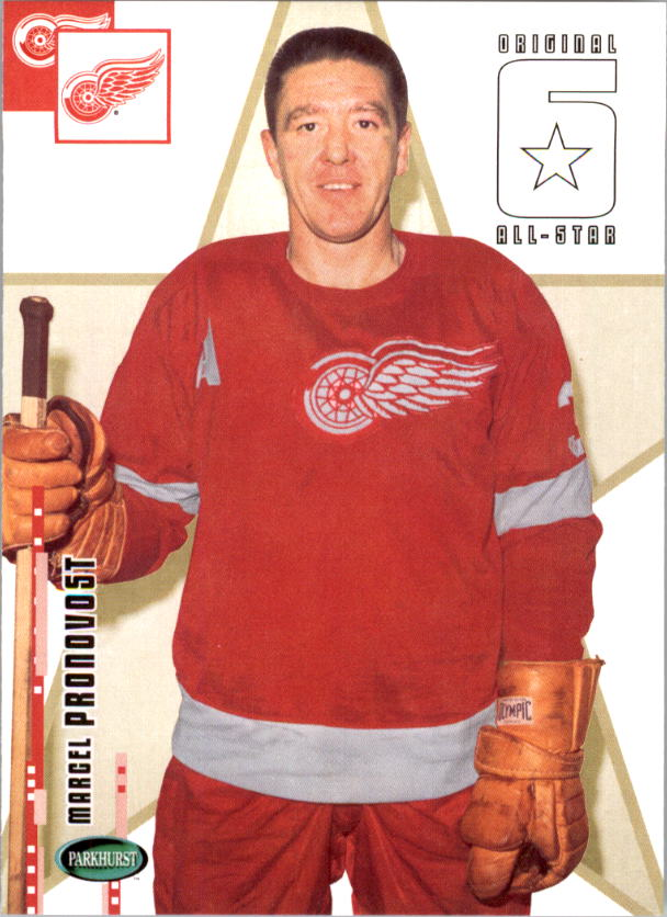 2003-04 Parkhurst Original Six Detroit #65 Marcel Pronovost AS