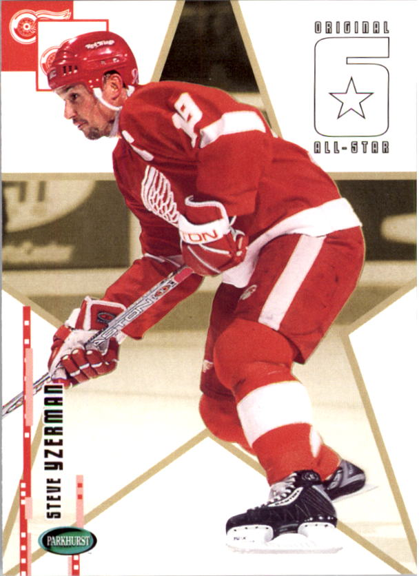 2003-04 Parkhurst Original Six Detroit #68 Steve Yzerman AS