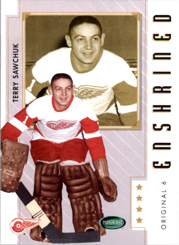 2003-04 Parkhurst Original Six Detroit #87 Terry Sawchuk E