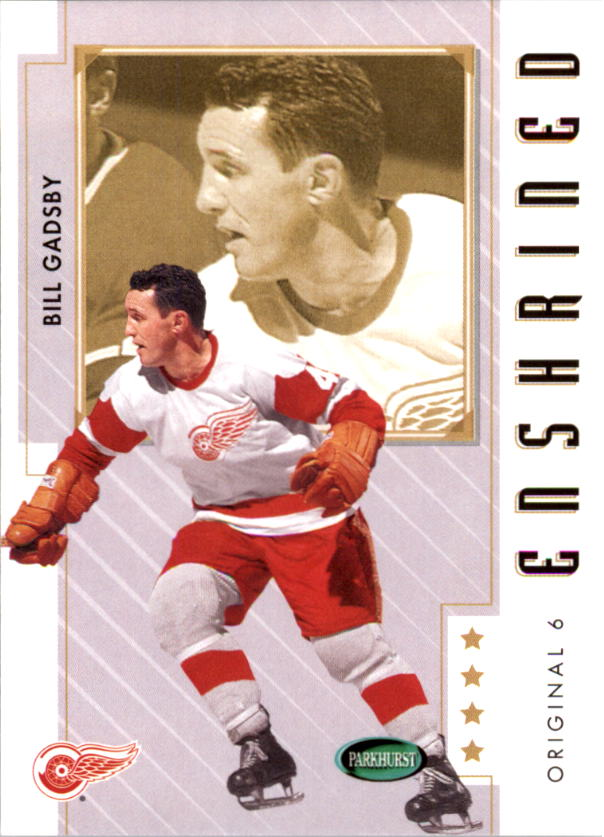 2003-04 Parkhurst Original Six Detroit #89 Bill Gadsby E