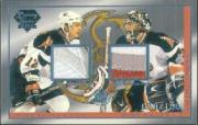 2003-04 Pacific Luxury Suite #27B Ryan Miller PATCH/Ales Kotalik PATCH
