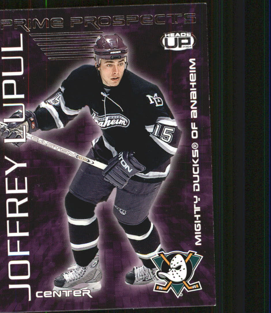 2003-04 Pacific Heads Up Prime Prospects #1 Joffrey Lupul