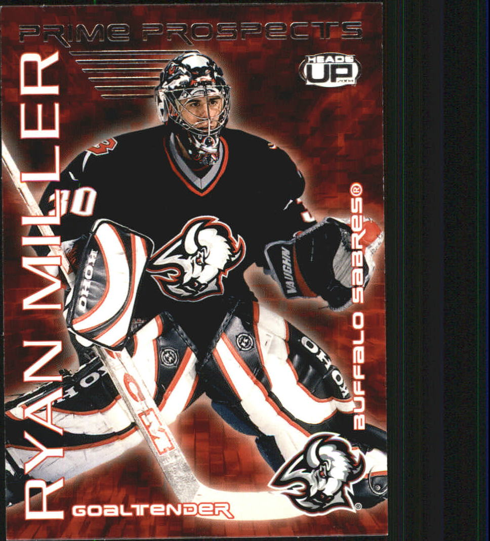 2003-04 Pacific Heads Up Prime Prospects #3 Ryan Miller