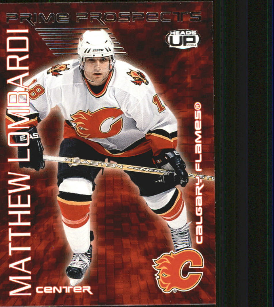2003-04 Pacific Heads Up Prime Prospects #4 Matthew Lombardi