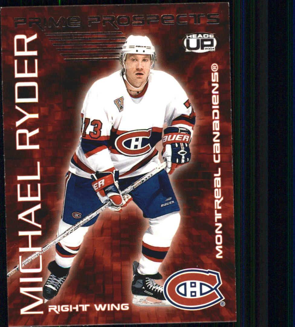 2003-04 Pacific Heads Up Prime Prospects #13 Michael Ryder