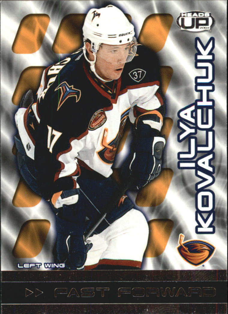 2003-04 Pacific Heads Up Fast Forwards #2 Ilya Kovalchuk